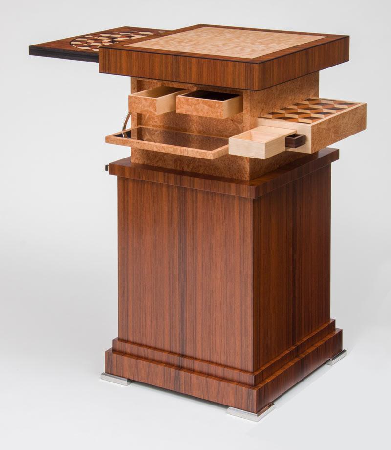 Designer Spiegel automaton een tafel met oneindige vakjes innovatief be