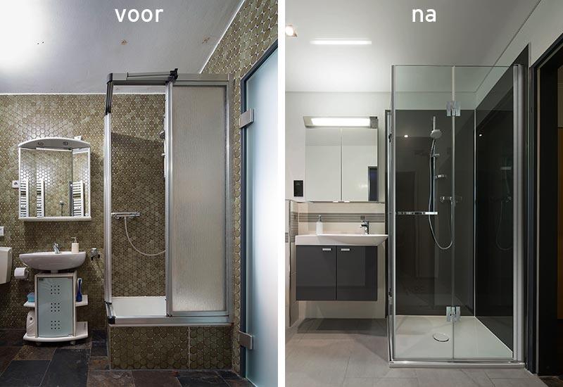 Bekleed de douche met foto\'s of motiefjes | Innovatief.be