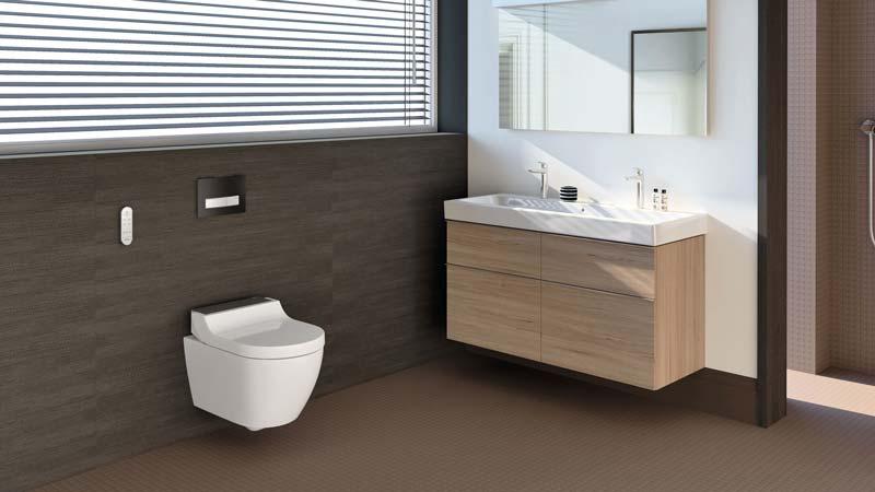Douche wc te monteren op bestaand toilet innovatief be