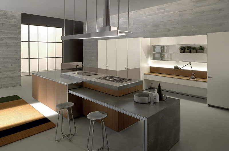 Innovatief keukeneiland - Ernestomeda cucine ...