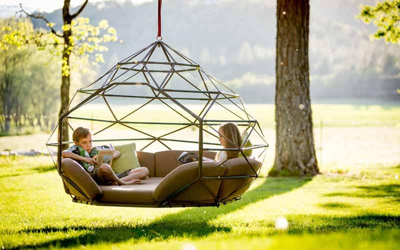 Schommel Voor Tuin : Luxeschommel voor volwassenen innovatief be