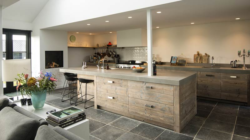 Steigerhouten keukens steigerhouten keuken restylexl keukens