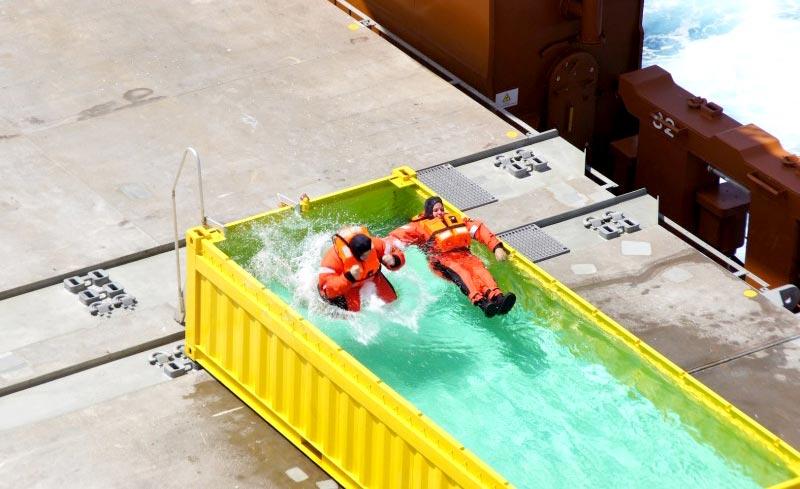 Pimp eens een zeecontainer tot zwembad - Container als pool ...
