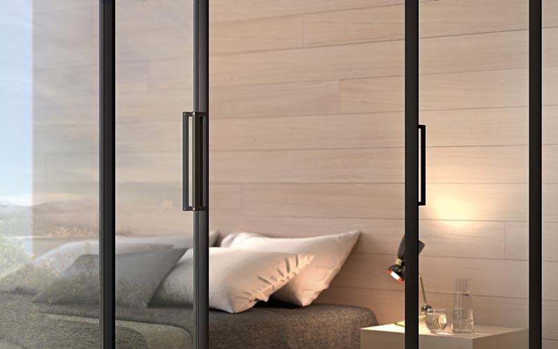 Schuifdeur In Slaapkamer : Deze ranke schuifdeur spreekt tot de verbeelding innovatief.be