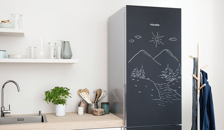 miele blackboard fridge frigo krijtbord thumb